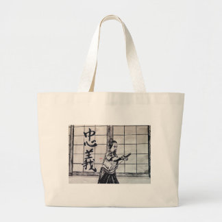 Chuugi Duty and Loyalty by Carter L Shepard Large Tote Bag