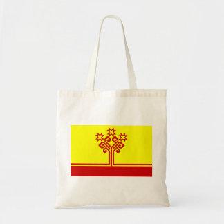 Chuvashia flag russia country republic region budget tote bag