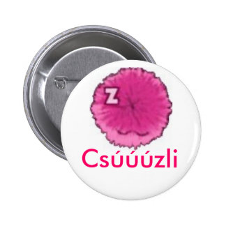 Chuzzle 6 Cm Round Badge