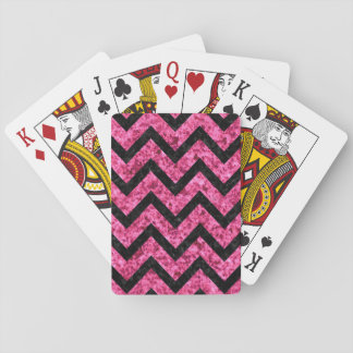 CHV9 BK-PK MARBLE (R) PLAYING CARDS