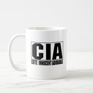 CIA Cute Innocent Adorable Mug