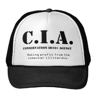 CIA id10t Cap
