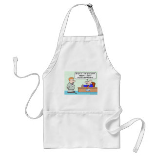 cia lost and found adult apron
