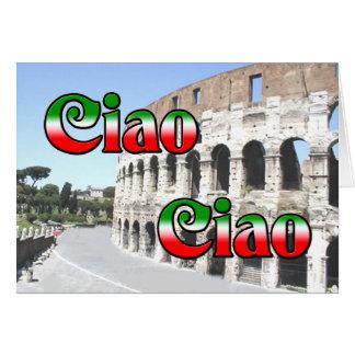 Ciao Ciao Card