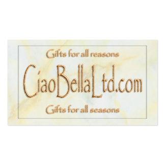 CiaoBellaLtd com Business Cards