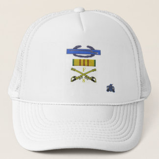 CIB and sabers Trucker Hat