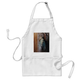 Cicada dries his wings standard apron