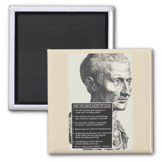 Cicero 'Six mistakes of man' age-old wisdom magnet