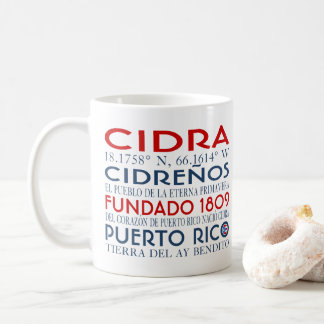 Cidra, Puerto Rico Coffee Mug
