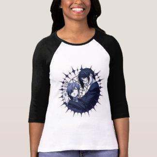 Ciel and Sebastian Half Sleeve T-Shirt