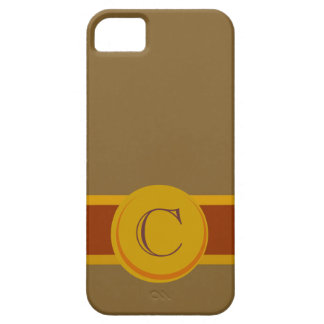 Cigar Band with Monogram Case For The iPhone 5