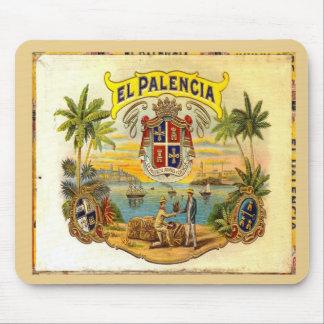 Cigar Box Lid El Palencia 2 Mouse Pad