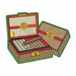 Cigar Box Logo Embroidered Track Jacket