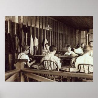 Cigar Boys, 1909 Print