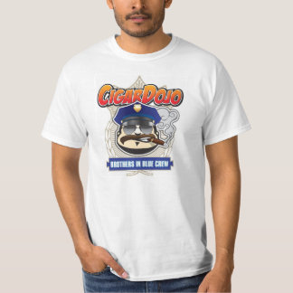 Cigar Dojo Brothers in Blue Crew T-Shirt