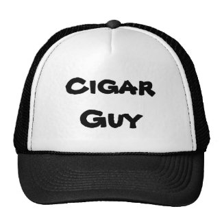 cigar guy cap