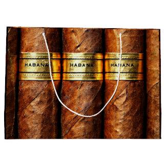 Cigar Havana Cigars Cuban Smoke Clube Luxury Gift Large Gift Bag