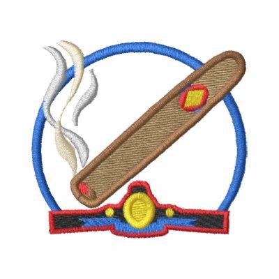 Cigar Logo Embroidered Shirt