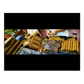 Cigar Making on Arthur Avenue postcard
