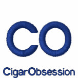Cigar Obsession Embroidered T-Shirt