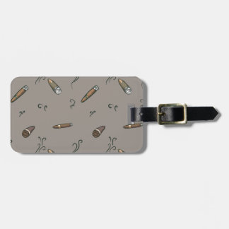 Cigar Pattern Luggage Tag