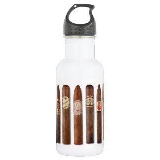 Cigar Rows // 532 Ml Water Bottle