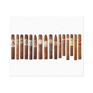 Cigar Rows // Canvas Print