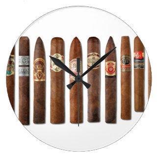 Cigar Rows // Large Clock