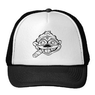 Cigar Smoking Monkey Hat