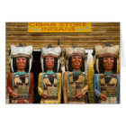 Cigar Store Indian statues Card