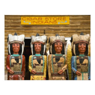 Cigar Store Indian statues Photo Art