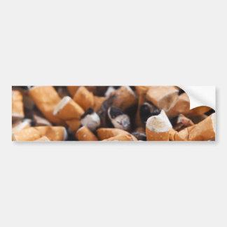 Cigarette Butts Bumper Sticker
