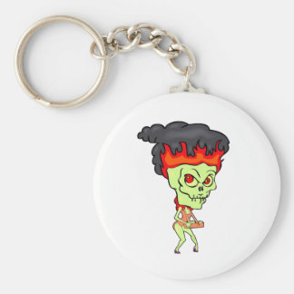 Cigarette Ghoul Basic Round Button Key Ring