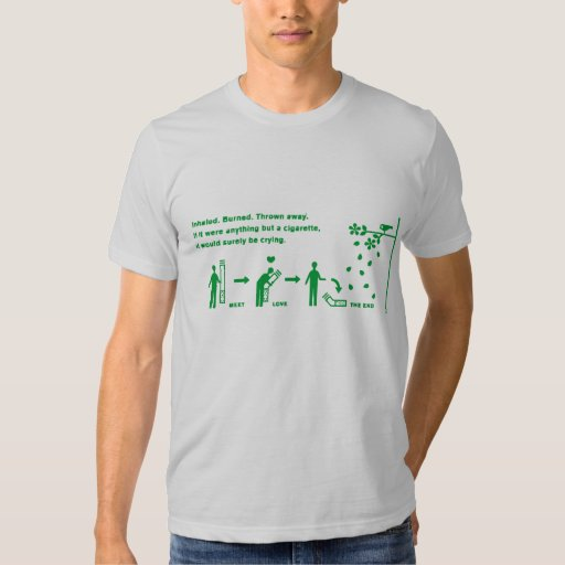 Cigarette Love T Shirts