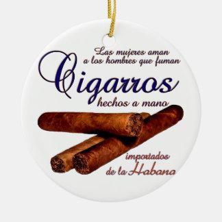 Cigarros - Cirars Ceramic Ornament