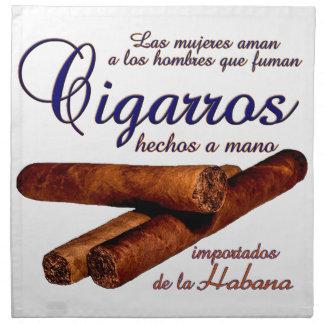 Cigarros - Cirars Napkin