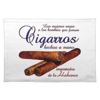 Cigarros - Cirars Placemat