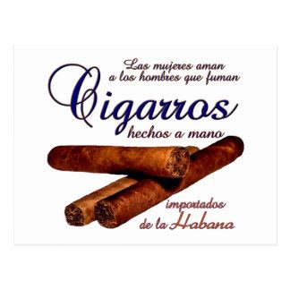 Cigarros - Cirars Postcard
