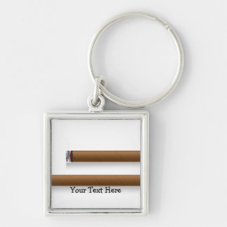 Cigars (personalized) key ring