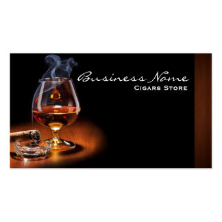 Cigars Store Business Cards