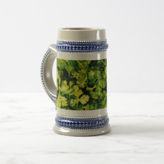 Cilantro / Coriander Leaves Beer Stein