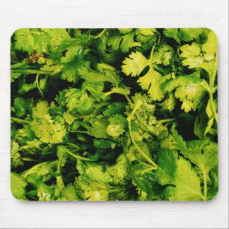 Cilantro / Coriander Leaves Mouse Pad