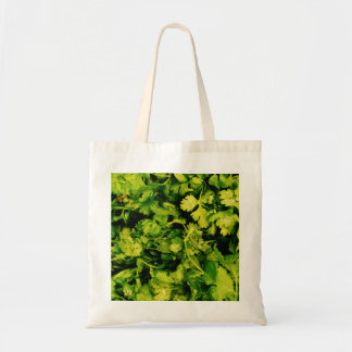 Cilantro / Coriander Leaves Tote Bag