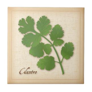 Cilantro Herb Ceramic Tile