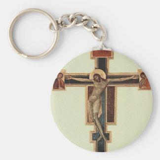 Cimabue Basic Round Button Key Ring