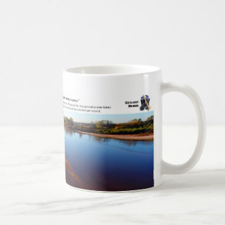 Cimarron River III - October Morning Looking East Coffee Mug