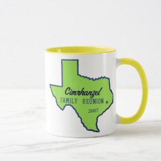 cimrhanzelTshirtTEXASgreen Mug