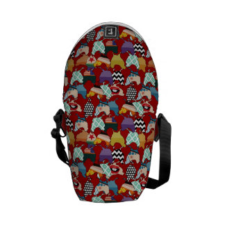Cincinnati Chickens Red Messenger Bag