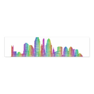 Cincinnati city skyline napkin band