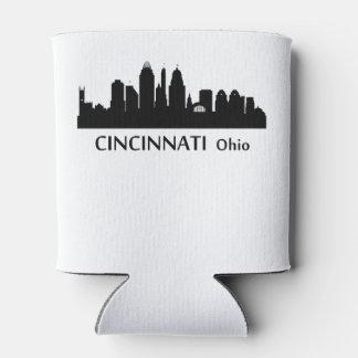 Cincinnati Cityscape Skyline Can Cooler